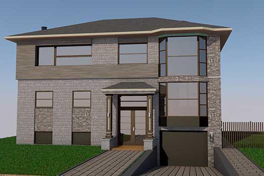 Plan De Maison Montral Ahuntsic  StudioAd